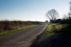 Bramley attracca il vicolo nell'inverno Immagini Stock