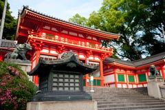 bramy świątyni yasaka Obraz Royalty Free