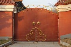 bramy czerwień Obrazy Royalty Free