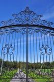 bramy dokonany żelazny Zdjęcia Royalty Free