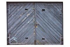 bramy drewniany stary Obrazy Stock