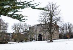 Bramy katedry i opactwa kościół Świątobliwy Alban w st.Albans, obrazy royalty free