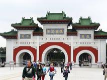bramy męczennika s świątynia turyści Zdjęcie Stock