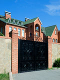 bramy mały domowy Fotografia Stock