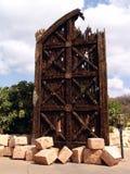 bramy miasta niebo jest zagubiony zdjęcie royalty free