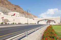 bramy muttrah Oman Obraz Royalty Free