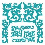 Bramy rytownictwa wzoru Deseniowy rocznik Zdjęcie Royalty Free
