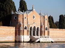 Bramy San Michele cmentarz Obraz Stock