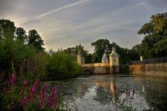 Bramy w Schloss Augustusburg Brà ¼ hl Niemcy Niemcy Zdjęcia Royalty Free