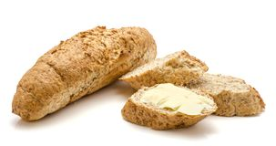 Bran bread Stock Photos