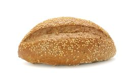 Bran Bread with Sesame Seeds Stock Photo