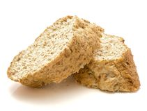 Bran bread Stock Image