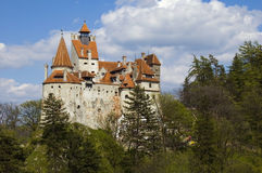 Bran Castle. (German: Törzburg; Hungarian: Törcsvár), situated near Bran and in the immediate vicinity of Brasov, is a national monument and landmark in Royalty Free Stock Photos