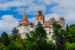 Bran Castle. Medieval castle, Bran - Romania, Transilvania, known as Dracula's Castle Royalty Free Stock Images
