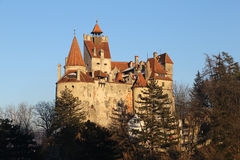 Travel Romania: Bran Castle  Royalty Free Stock Photos