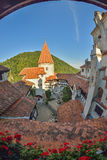 Bran Castle, also called Dracula's Castle, in Bran, Romania Stock Photos