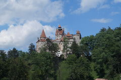 Bran Castle, also know as Dracula`s Castle, Brasov, Transylvania, Romania Royalty Free Stock Photography