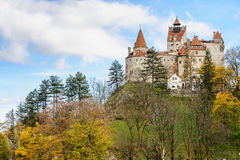 Bran Castle, Brasov, Transylvania Romania. Royalty Free Stock Image