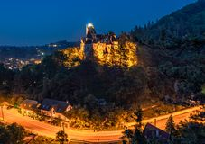 Bran Castle - Count Dracula's Castle, Romania. The mythic place from where the legend of dracula emerged Royalty Free Stock Photography