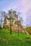 Bran Castle Dracula`s Castle Royalty Free Stock Photos