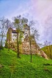 Bran Castle Dracula`s Castle Royalty Free Stock Photos