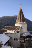 Bran Castle:  Dracula`s Castle in Romania Royalty Free Stock Image