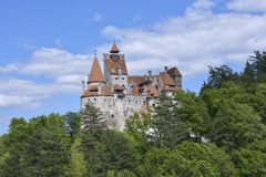 Bran Castle - Dracula`s Castle Royalty Free Stock Photo