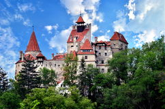 Bran Castle - Dracula's Castle. Royalty Free Stock Images