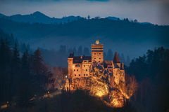 Bran castle. Dracula transilvania romania Stock Photos