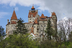 Bran Castle, guarded in the past the border between Wallachia an Stock Image