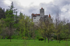 Bran Castle, guarded in the past the border between Wallachia an Stock Images