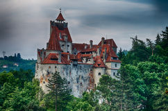 Bran Castle, HDR image, landmark in Romania Royalty Free Stock Photography