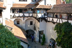 Bran castle,  home of Dracula, Brasov, Transylvania Stock Photos