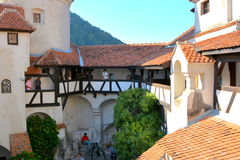Bran castle,  home of Dracula, Brasov, Transylvania Royalty Free Stock Photo