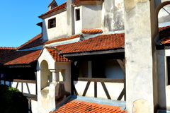 Bran castle, home of Dracula, Brasov, Transylvania Stock Images