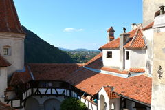 Bran castle, home of Dracula, Brasov, Transylvania Royalty Free Stock Images