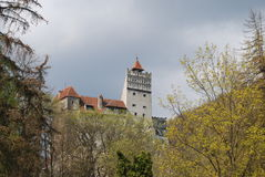 Bran Castle, landmark of Romania Stock Photos