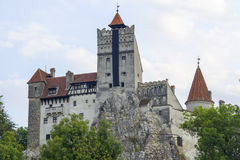 Bran Castle. Medieval Castle of Bran in Transylvania, also known as Dracula`s Castle Royalty Free Stock Photo