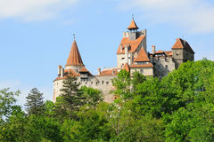 Bran castle no.1 Royalty Free Stock Images