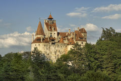 Bran castle, the residence of the Dracula Royalty Free Stock Image