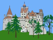 Bran Castle, Romania Royalty Free Stock Photos
