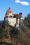 Bran Castle, Romania. Back view of the Bran Castle, Romania