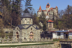 Bran Castle, Romania Royalty Free Stock Images