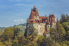 Bran Castle, Romania. Bran Castle, also known as Dracula Castle on September 22, 2015, Bran, Romania. Its fame is created around Bram Stoker's character, Count Royalty Free Stock Photography