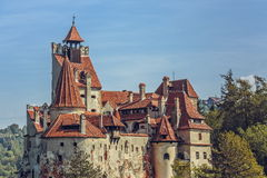 Bran Castle, Romania. Bran Castle, also known as Dracula Castle on September 22, 2015 in Bran, Romania. Its fame is created around Bram Stoker's character Royalty Free Stock Photos
