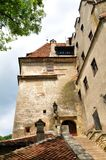 Bran castle in Romania Royalty Free Stock Image