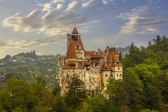 Bran Castle, Romania Royalty Free Stock Image