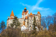 Bran Castle, Romania, known for the story of Dracula Stock Images