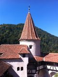 BRAN castle in Romania royalty free stock photos