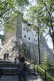 Bran castle, Romania Royalty Free Stock Photography